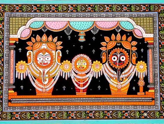 Deities Raghurajpur